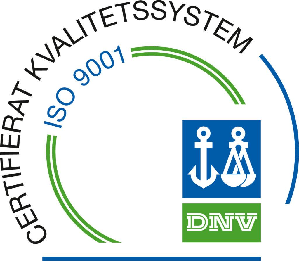 certifierat kvalitetssystem